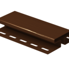 H-Планка Ю-пласт коричневая