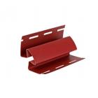 Угол внутренний АКРИЛ  для сайдинга, красный