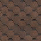 Финская черепица  коричневый