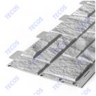 Сайдинг панели под камень «Текос» — Серый