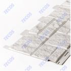 Сайдинг панели под камень «Текос» — Белый
