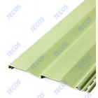 Сайдинг виниловый Текос, цвет Светло-салатовый 112