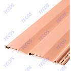 Сайдинг виниловый Текос, цвет Фламинго 117