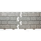 Фасадная панельTecos Brickwork (Silver Melange) Сильвер Меланж
