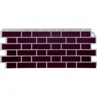 Фасадные панели FineBer  Облицовочный Britt Темно-бордовый