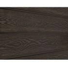 Фасадная доска ДПК Cedrus, тёмно-коричневая тангенциальная