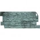 Фасадные панели FineBer (Фаинбер), «Дикий Камень» — Серо-зеленый