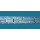 Цокольный сайдинг «Доломит», Серия «Прокрашенные швы» – Серо-голубой
