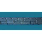 Цокольный сайдинг «Доломит», Серия «Прокрашенные швы» – Серый