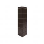 Угол наружный «Гладкий кирпич» Темно-Коричневый