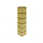 Угол наружный «Гладкий кирпич» Желтый
