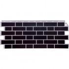Фасадные панели FineBer  Облицовочный Britt Темно-коричневый