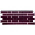 Фасадные панели FineBer  Облицовочный Britt бордовый