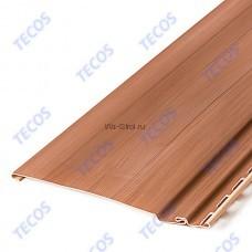 Cайдинг Текос «Natural wood effect» АКРИЛ — Оцилиндрованный брус — Канадский дуб
